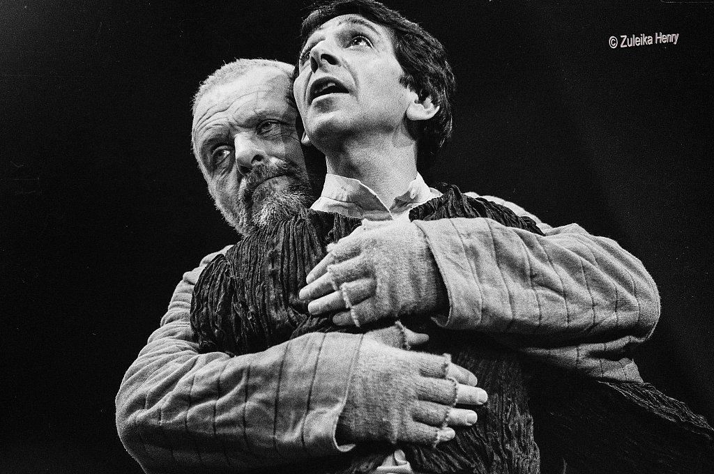 Antony Hopkins as King Lear 1986
