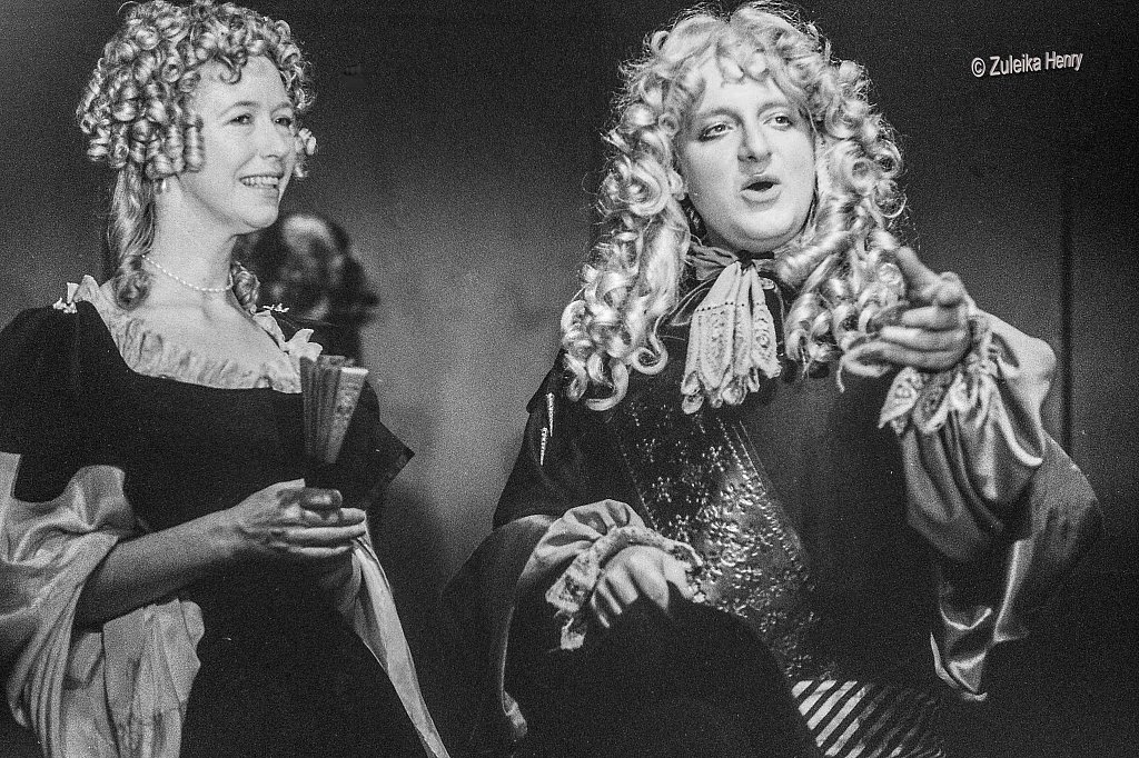 Simon Russell-Beale and Mary Mullen