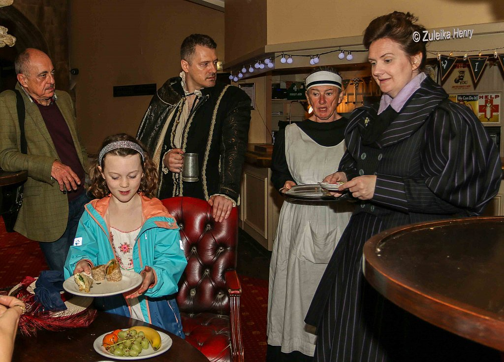 achael Fagan as Esme Smyth Kirsty Cox and John Lomas as Hugh Smyth and Sheila Hannon as servant Kate