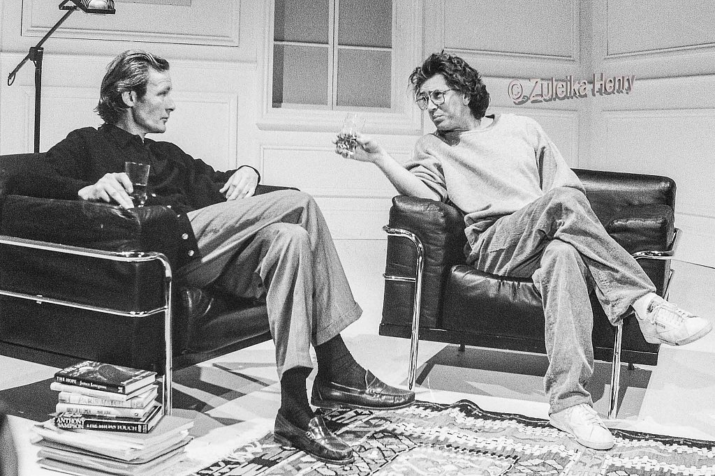 Bill Nighy as Jerrry and Martin Shaw as Robert