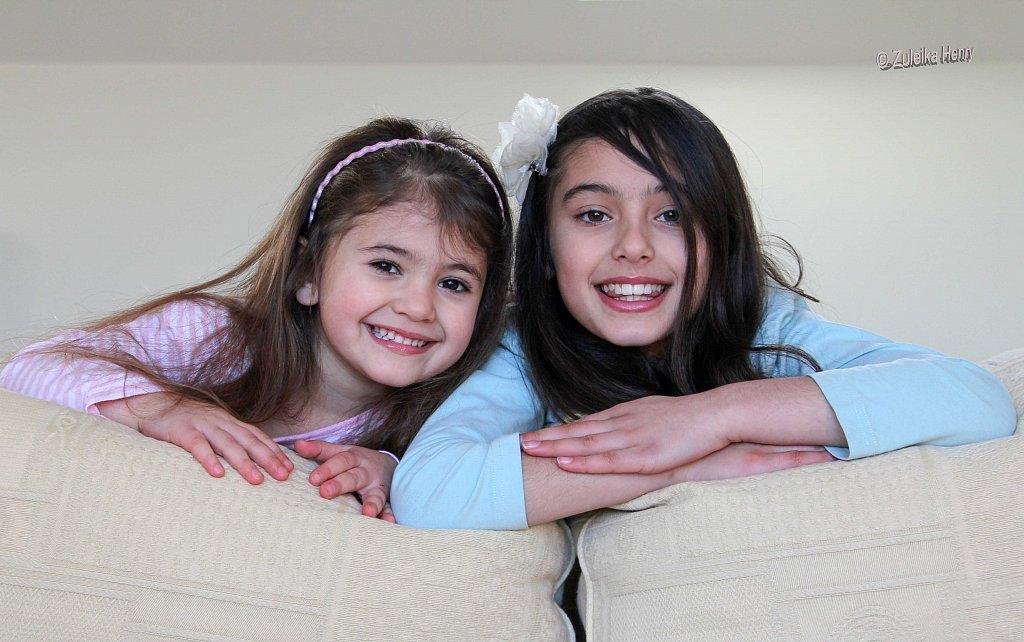 Laila and Ayesha Huckin
