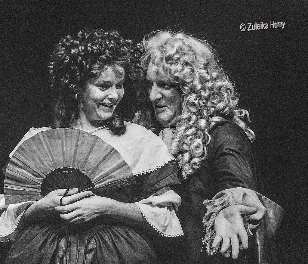 Amanda Root and Simon Russell- Beale